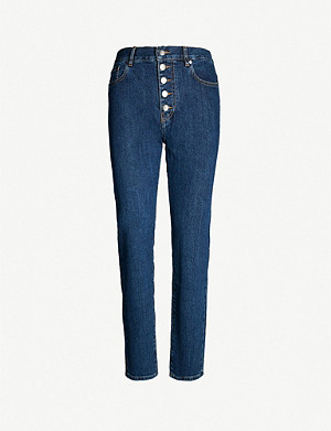 JOSEPH Den stretch-denim jeans