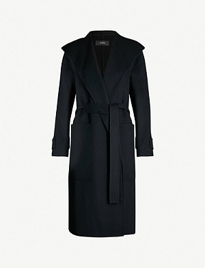 JOSEPH Lista wool-blend wrap coat