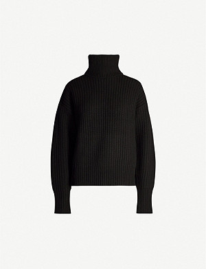 JOSEPH Turtleneck wool jumper