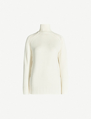 JOSEPH Sloppy Joe turtleneck wool jumper