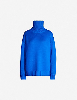 JOSEPH Sloppy Joe oversized wool jumper