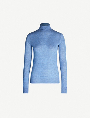 JOSEPH Turtleneck cashmere jumper