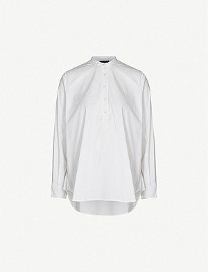 JOSEPH Luke relaxed-fit stretch-cotton shirt