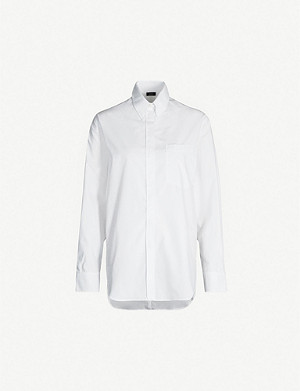 JOSEPH Gibson cotton-poplin shirt