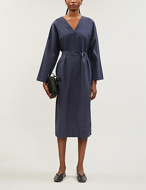 JOSEPH Etta cotton-poplin dress