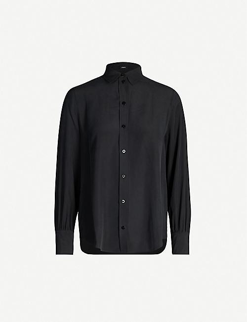 JOSEPH Klein silk-toile blouse