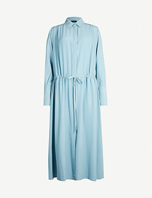 JOSEPH Evie silk midi dress