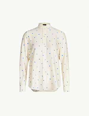 JOSEPH New garcon scribble spot blouse