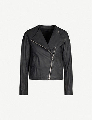 JOSEPH Alto scuba leather jacket
