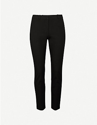 JOSEPH: Eliston stretch-gabardine trousers