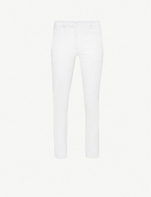 JOSEPH New Eliston stretch-gabardine slim-leg trousers
