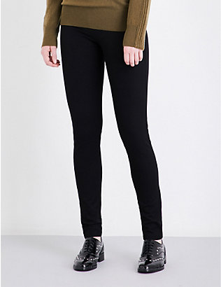 JOSEPH: Skinny stretch-gabardine leggings