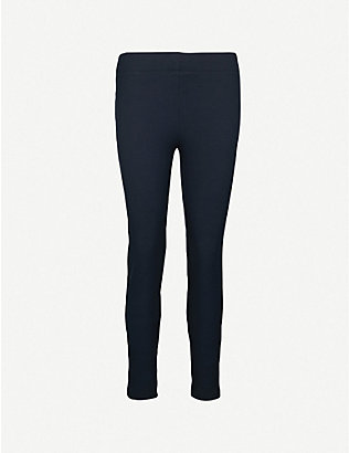 JOSEPH: High-rise slim-fit stretch-gabardine leggings