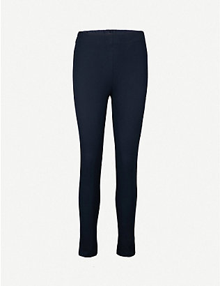 JOSEPH: Slim-fit skinny high-rise woven trousers