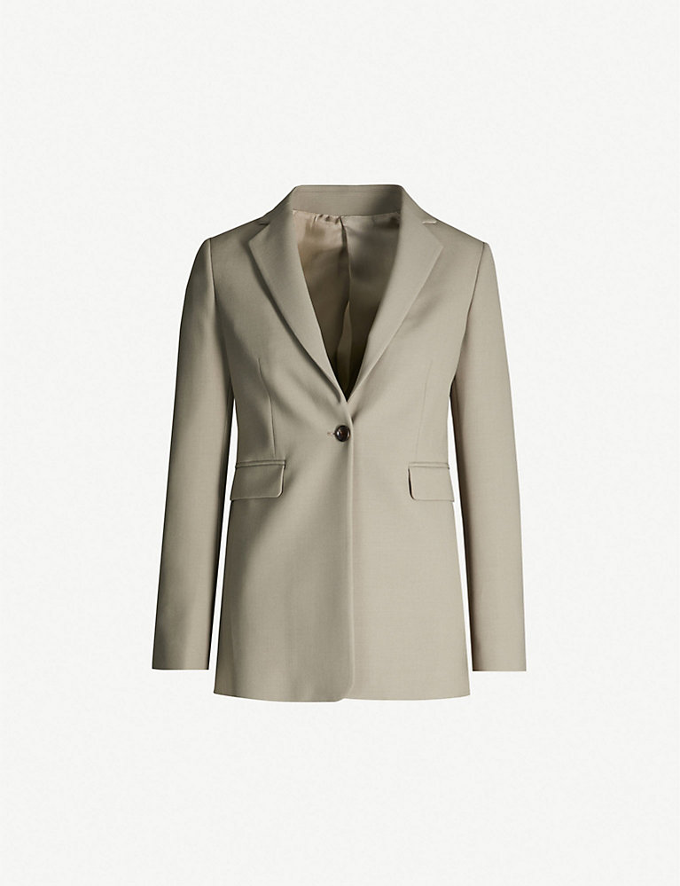 Joseph Lorenzo single-breasted woven jacket