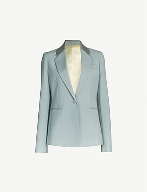 JOSEPH Steed Grain De Poudre single-breasted wool jacket