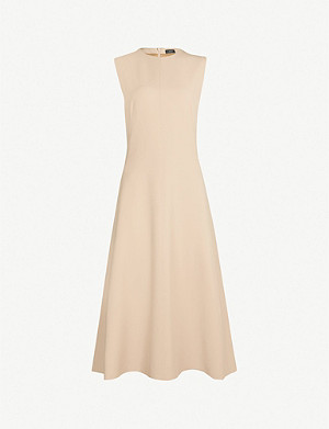 JOSEPH Fulton Compact crepe dress