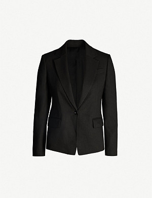 JOSEPH New Williams single-breasted linen-blend blazer