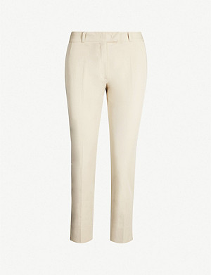 JOSEPH Bing Court stretch-cotton trousers