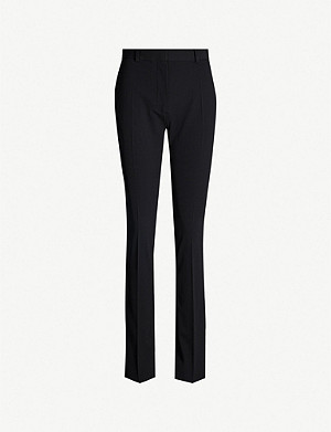 JOSEPH Zoran slim-fit wool-blend trousers