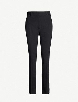 JOSEPH Zoran comfort wool-blend trousers