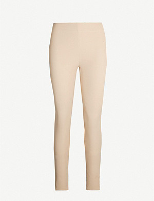 JOSEPH High-rise stretch-gabardine leggings