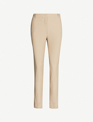JOSEPH Zoom cropped gabardine trousers