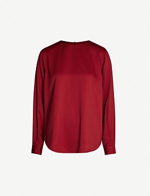 JOSEPH Elliot Light Cady blouse