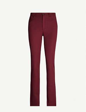 JOSEPH Elmo stretch-cotton trousers