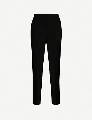JOSEPH: Coman slim high-rise stretch-crepe trousers