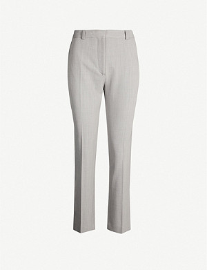 JOSEPH Zoom comfort wool trousers