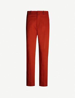 JOSEPH Coman stretch-cotton trousers