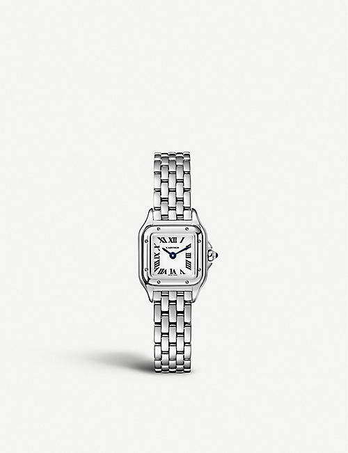 CARTIER Panthère de Cartier mini steel watch