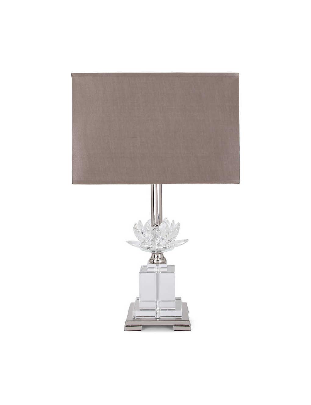 LIGHT SHOP Flower crystal table lamp |
