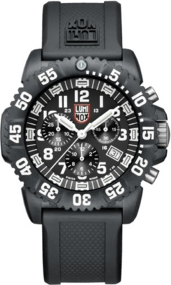 SPYMASTER Lum3081 Colormark Chronograph watch
