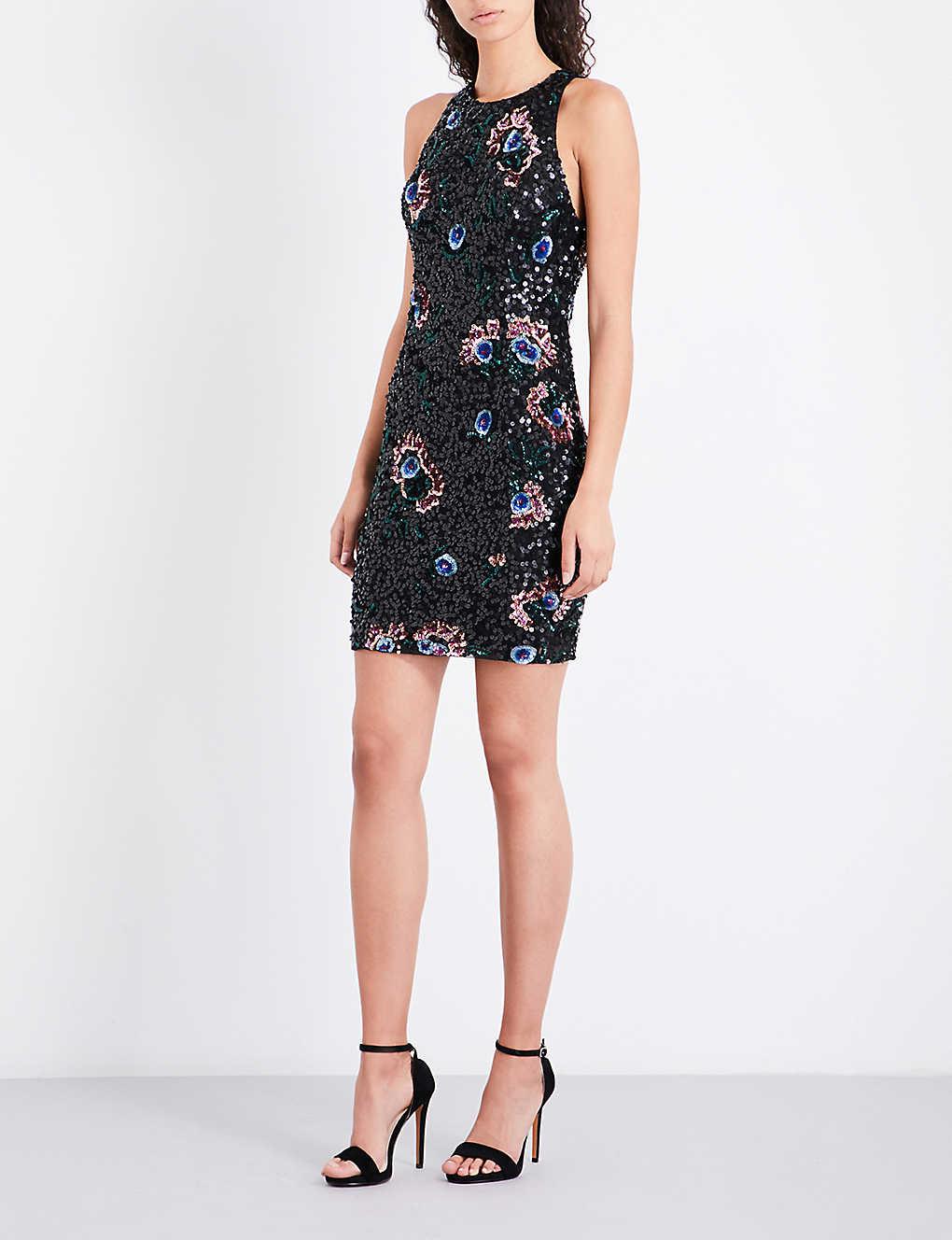 00e981a7a24 FRENCH CONNECTION - Valerie Sparkle sequinned dress | Selfridges.com