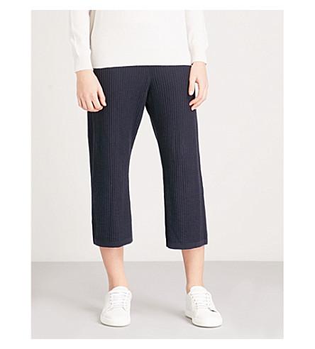 5275d0f56b13 WAREHOUSE - Cable-knit cropped trousers | Selfridges.com