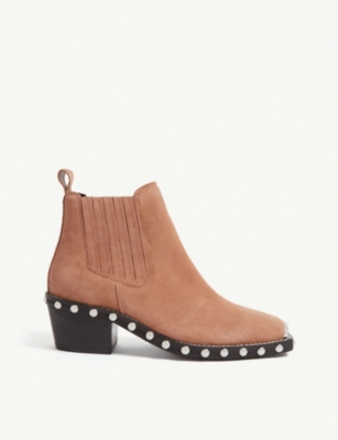 TOPSHOP Alana leather ankle boot