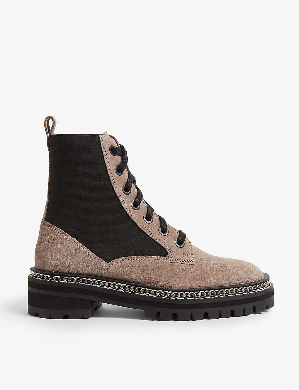 606412693aa TOPSHOP - Ashton suede lace-up boot