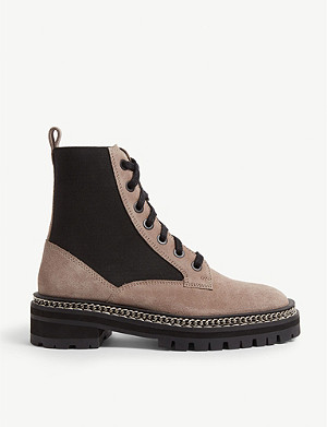 0b574274e6fd TOPSHOP - Ashton leather lace-up boot