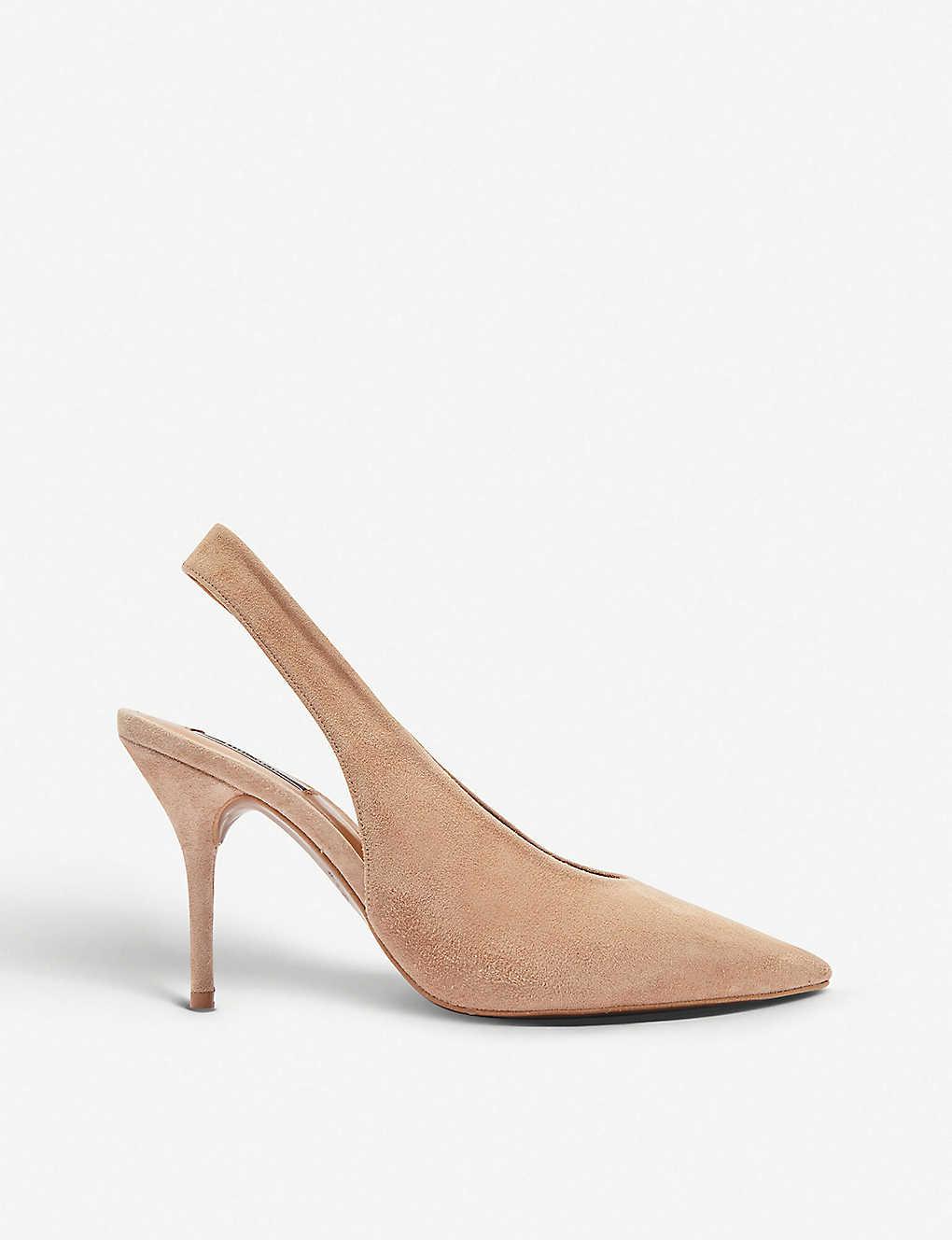2df75c72ce69 TOPSHOP - Gail leather slingback shoes   Selfridges.com