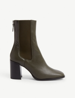 TOPSHOP Hunt leather ankle boot