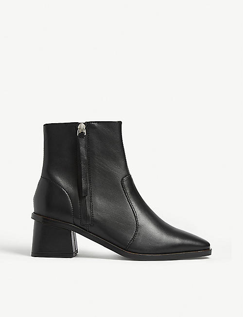 TOPSHOP Margot leather ankle boots