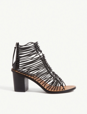 TOPSHOP Narly strappy heeled sandals