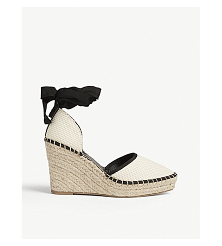 84031f957acf TOPSHOP - Williams espadrille wedge