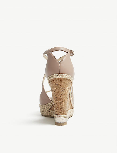 98e62fbb2c JIMMY CHOO - Wedge sandals - Sandals - Womens - Shoes - Selfridges ...