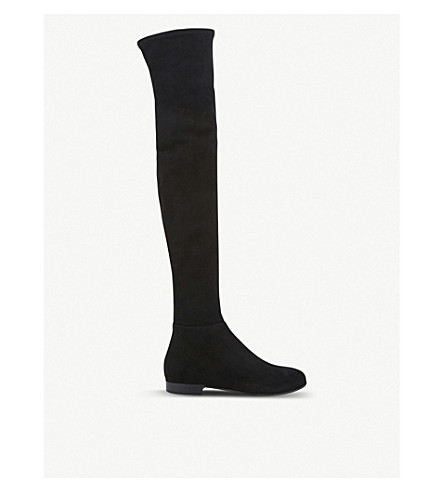 c08befdd3aa JIMMY CHOO - Myren flat suede over-the-knee boots