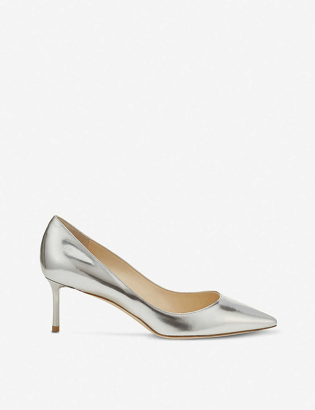 0176dd45d JIMMY CHOO - Romy 60 mirror-leather courts | Selfridges.com
