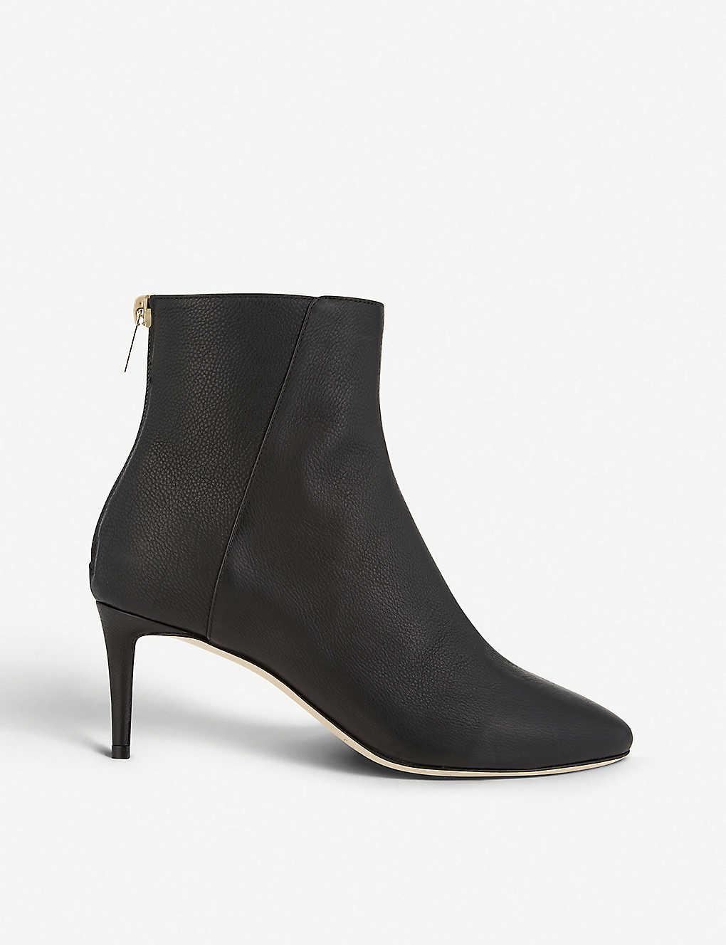 b648959304187 JIMMY CHOO - Duke 65 grainy leather heeled boots   Selfridges.com