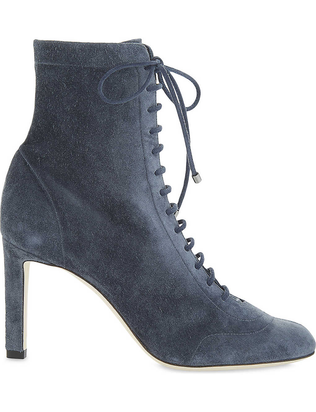 9e354584489 JIMMY CHOO - Daize 85 cashmere suede ankle boots